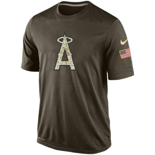 Men's Los Angeles Angels Salute To Service Nike Dri-FIT T-Shirt