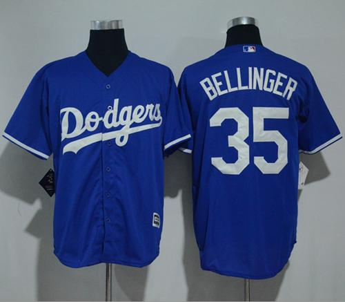 Dodgers #35 Cody Bellinger Blue New Cool Base Stitched MLB Jersey