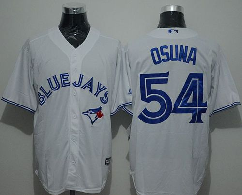Blue Jays #54 Roberto Osuna White New Cool Base Stitched MLB Jersey