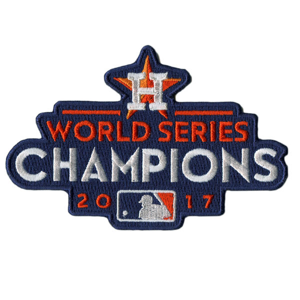 Stitched MLB World Series Champions Houston Astros Jersey Patch