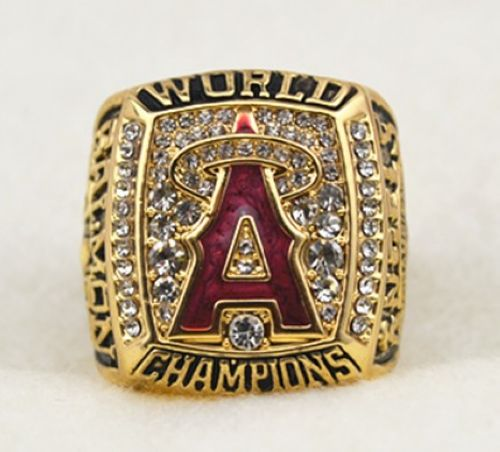 MLB Los Angeles Angels World Champions Gold Ring