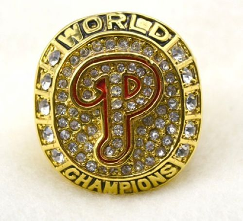 MLB Philadelphia Phillies World Champions Gold Ring