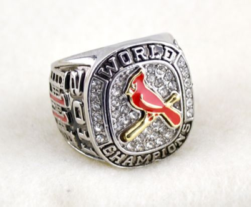 MLB St.Louis Cardinals World Champions Silver Ring