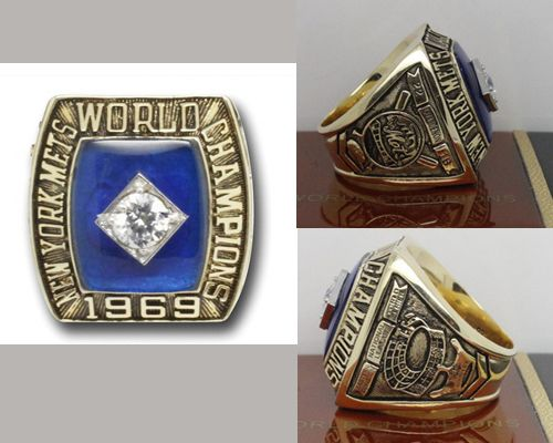 1969 MLB Championship Rings New York Mets World Series Ring