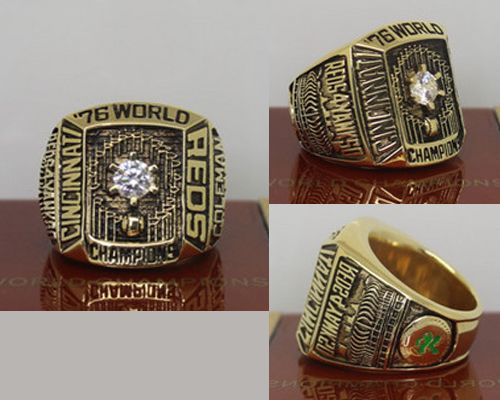 1976 MLB Championship Rings Cincinnati Reds World Series Ring