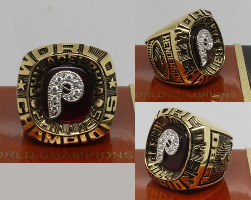 1980 MLB Championship Rings Philadelphia Phillies World Series Ring