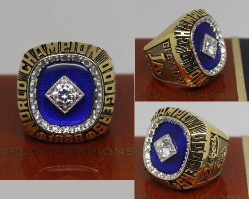 1988 MLB Championship Rings Los Angeles Dodgers World Series Ring