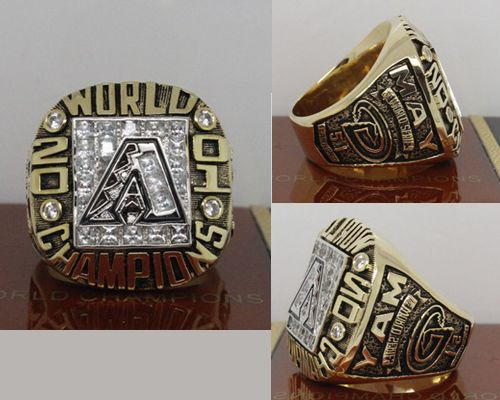 2001 MLB Championship Rings Arizona Diamondbacks World Series Ring