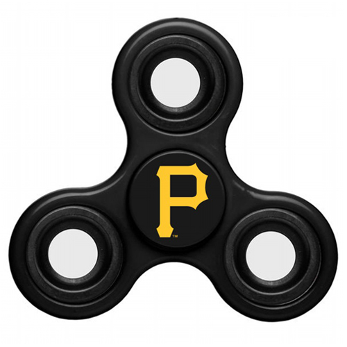 MLB Pittsburgh Pirates 3 Way Fidget Spinner C41 - Black