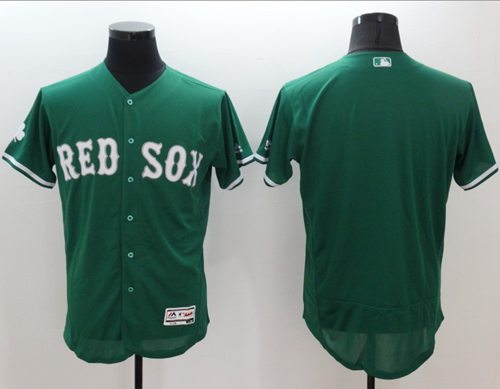 Red Sox Blank Green Celtic Flexbase Authentic Collection Stitched MLB Jersey