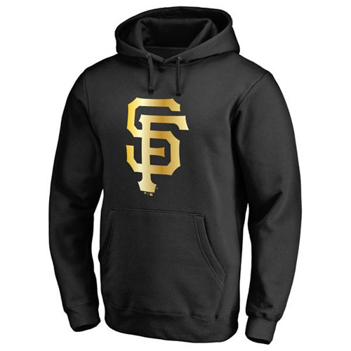 San Francisco Giants Gold Collection Pullover Hoodie Black