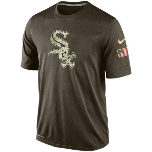 Men's Chicago White Sox Salute To Service Nike Dri-FIT T-Shirt