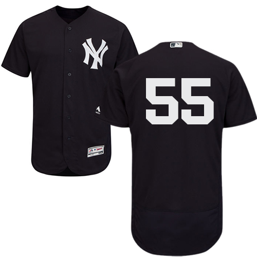 Yankees #55 Sonny Gray Navy Blue Flexbase Authentic Collection Stitched MLB Jersey