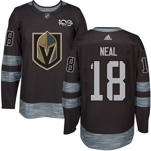 Adidas Golden Knights #18 James Neal Black 1917-100th Anniversary Stitched NHL Jersey
