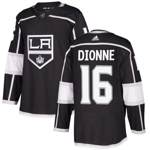 Adidas Kings #16 Marcel Dionne Black Home Authentic Stitched NHL Jersey