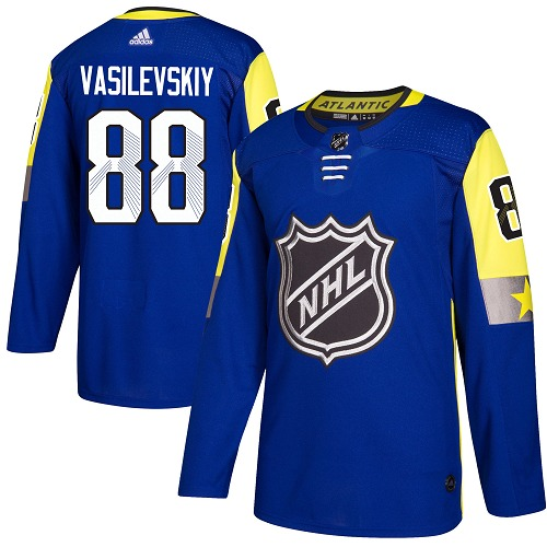 Adidas Lightning #88 Andrei Vasilevskiy Royal 2018 All-Star Atlantic Division Authentic Stitched NHL Jersey