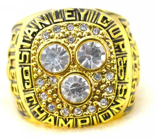 NHL Edmonton Oilers World Champions Gold Ring_1