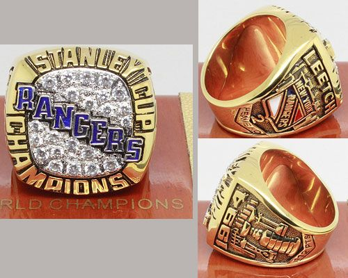 1994 NHL Championship Rings New York Rangers Stanley Cup Ring