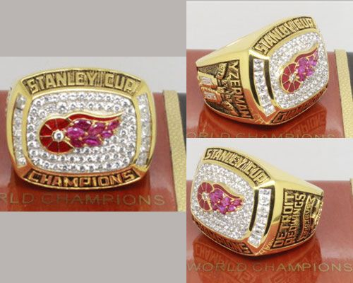 1998 NHL Championship Rings Detroit Red Wings Stanley Cup Ring