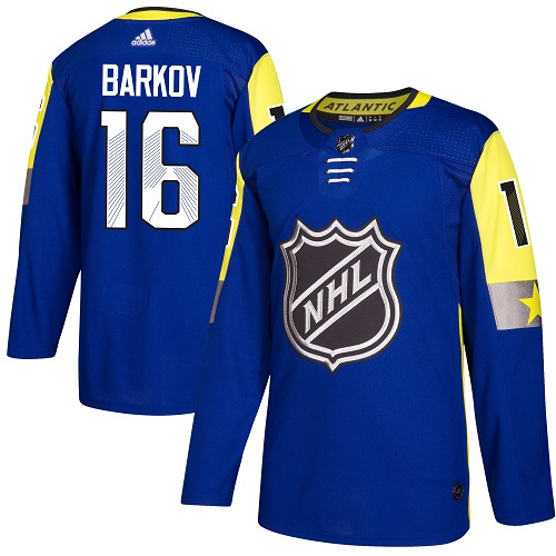 Adidas Panthers #16 Aleksander Barkov Royal 2018 All-Star Atlantic Division Authentic Stitched NHL Jersey