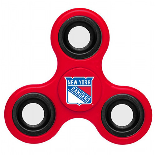 NHL New York Rangers 3 Way Fidget Spinner A95 - Red