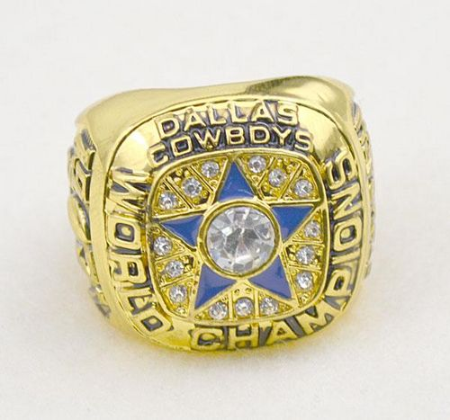 NFL Dallas Cowboys World Champions Gold Ring_1