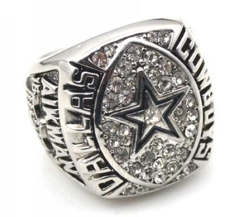 NFL Dallas Cowboys World Champions Silver Ring_2
