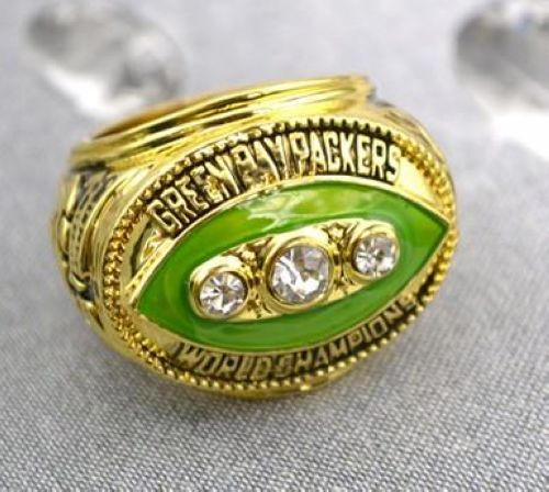 NFL Green Bay Packers World Champions Gold Ring_1