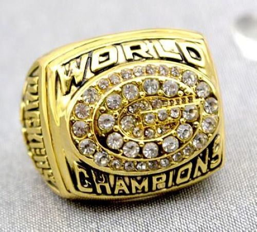 NFL Green Bay Packers World Champions Gold Ring_2