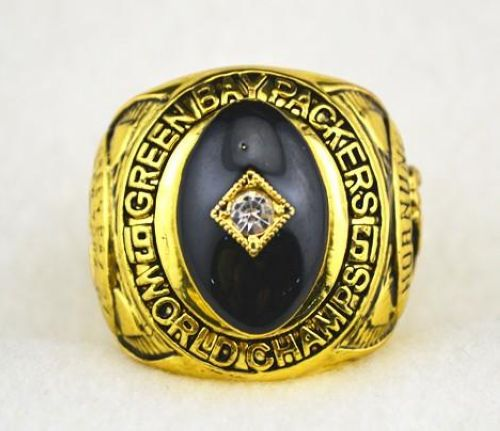 NFL Green Bay Packers World Champions Gold Ring_4