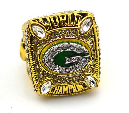 NFL Green Bay Packers World Champions Gold Ring_6