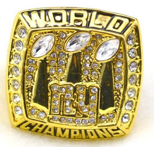 NFL New York Giants World Champions Gold Ring_1