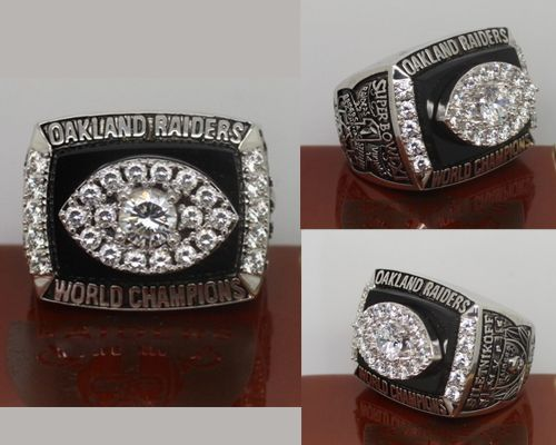 1976 NFL Super Bowl XI Oakland Raiders Championship Ring