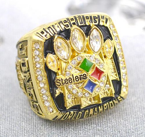 NFL Pittsburgh Steelers World Champions Gold Ring_2