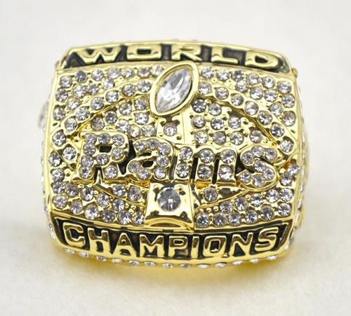 NFL St.Louis Rams World Champions Gold Ring