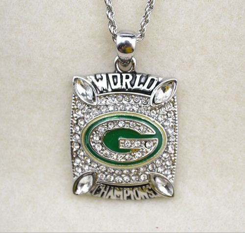 NFL Green Bay Packers World Champions Pendant