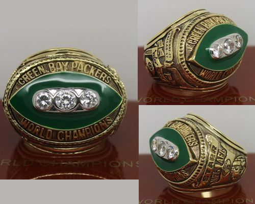 1967 NFL Super Bowl II Green Bay Packers Championship Ring