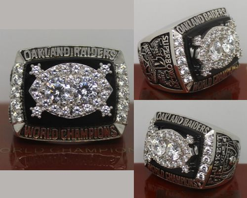 1980 NFL Super Bowl XV Oakland Raiders Championship Ring