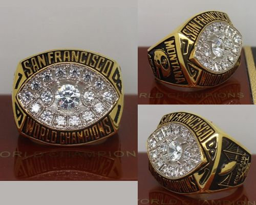 1981 NFL Super Bowl XVI San Francisco 49ers Championship Ring