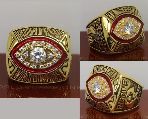 1982 NFL Super Bowl XVII Washington Redskins Championship Ring