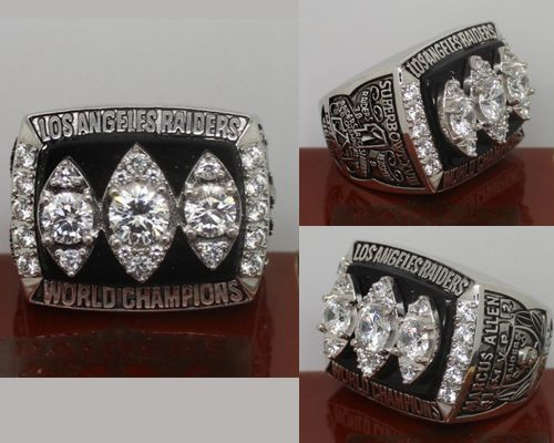 1983 NFL Super Bowl XVIII Los Angeles Raiders Championship Ring