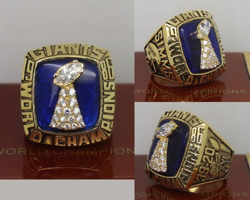1986 NFL Super Bowl XXI New York Giants Championship Ring