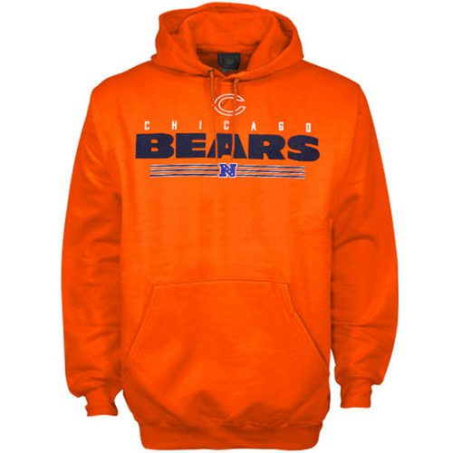 Chicago Bears Critical Victory VI Hoodie Orange