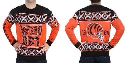 Nike Bengals Men's Ugly Sweater