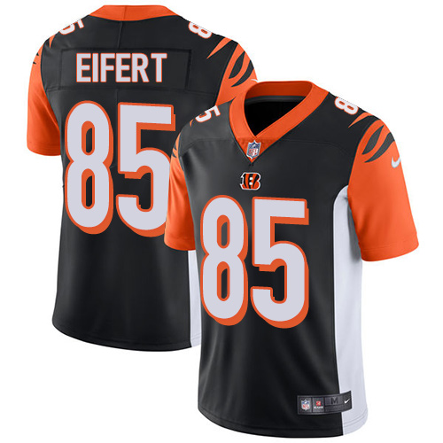 Nike Bengals #85 Tyler Eifert Black Team Color Men's Stitched NFL Vapor Untouchable Limited Jersey