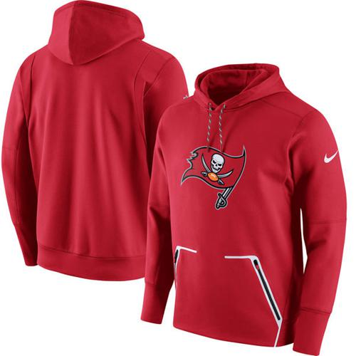 Men's Tampa Bay Buccaneers Nike Red Champ Drive Vapor Speed Pullover Hoodie