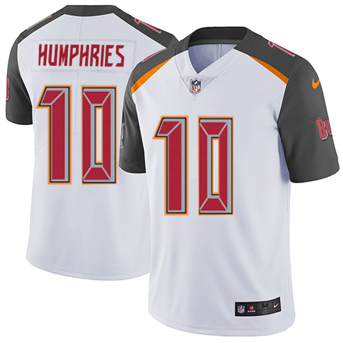 Nike Buccaneers #10 Adam Humphries White Men's Stitched NFL Vapor Untouchable Limited Jersey