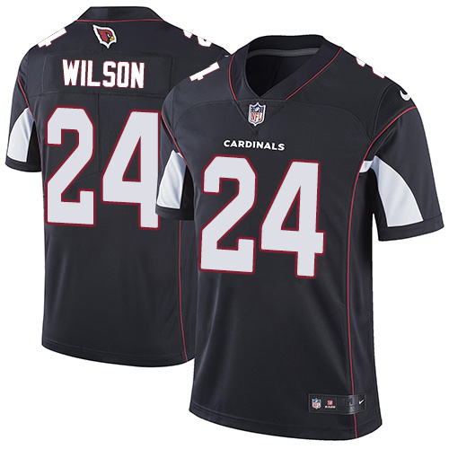 Nike Cardinals #24 Adrian Wilson Black Alternate Men's Stitched NFL Vapor Untouchable Limited Jersey