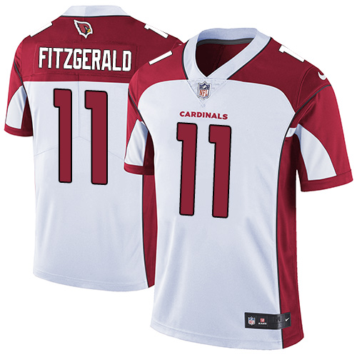 Nike Cardinals #11 Larry Fitzgerald White Men's Stitched NFL Vapor Untouchable Limited Jersey