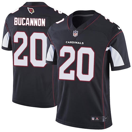 Nike Cardinals #20 Deone Bucannon Black Alternate Men's Stitched NFL Vapor Untouchable Limited Jersey